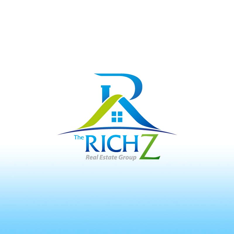 Logo Design by Puspita Wahyuni - Entry No. 55 in the Logo Design Contest The Rich Z. Real Estate Group Logo Design.