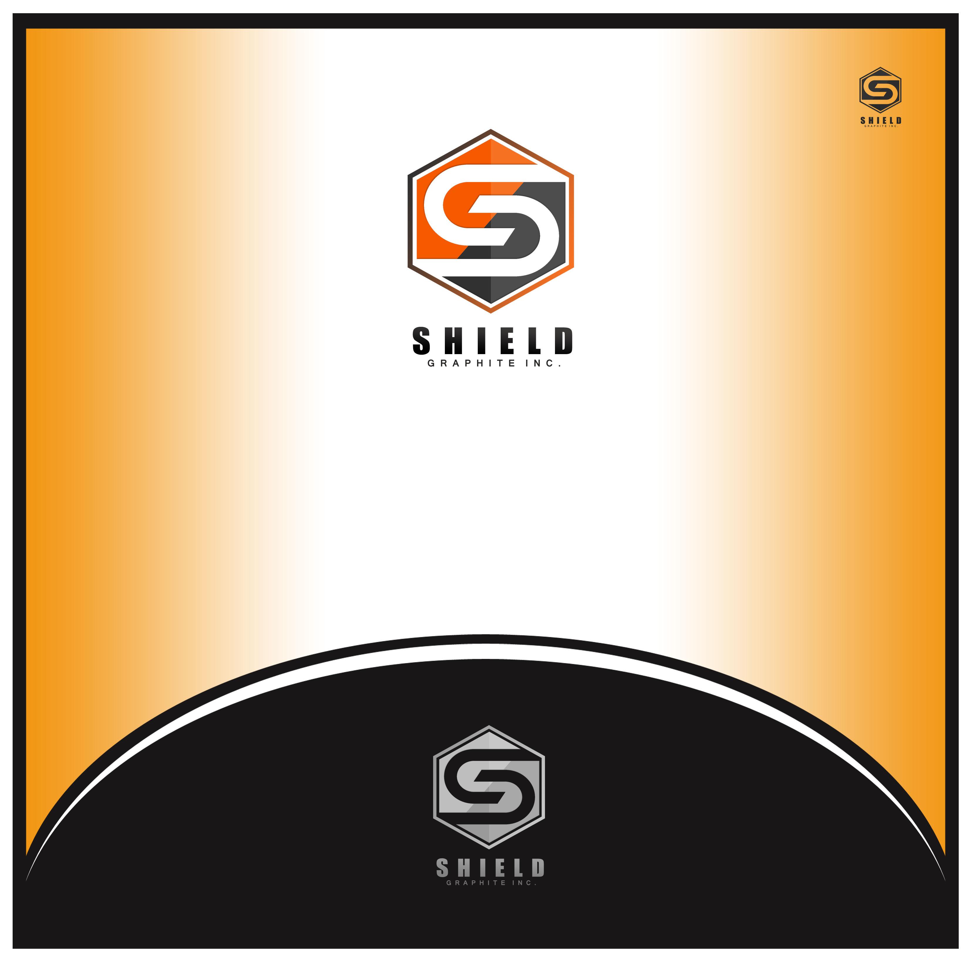 Logo Design by Allan Esclamado - Entry No. 58 in the Logo Design Contest Imaginative Logo Design for Shield Graphite Inc..
