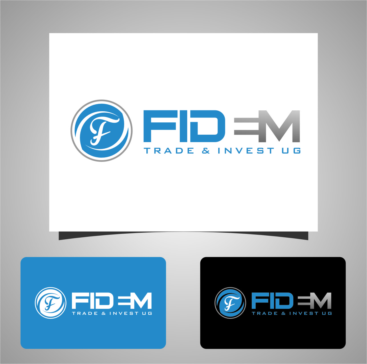 Logo Design by RasYa Muhammad Athaya - Entry No. 597 in the Logo Design Contest Professional Logo Design for FIDEM Trade & Invest UG.