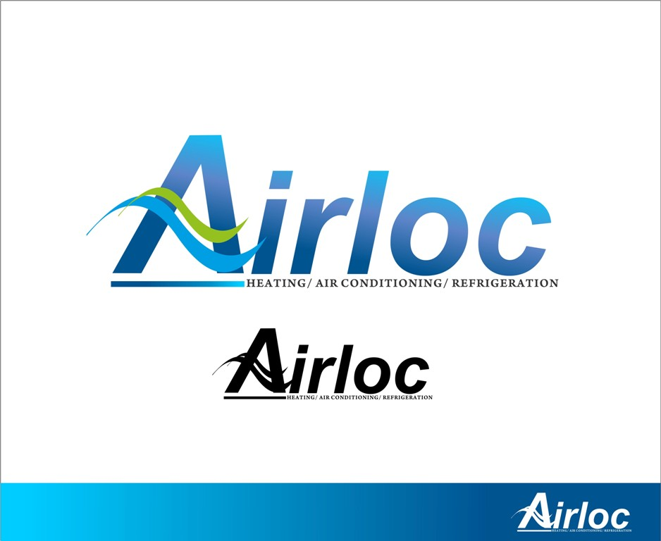 Logo Design by Mhon_Rose - Entry No. 7 in the Logo Design Contest Airloc Logo Design.