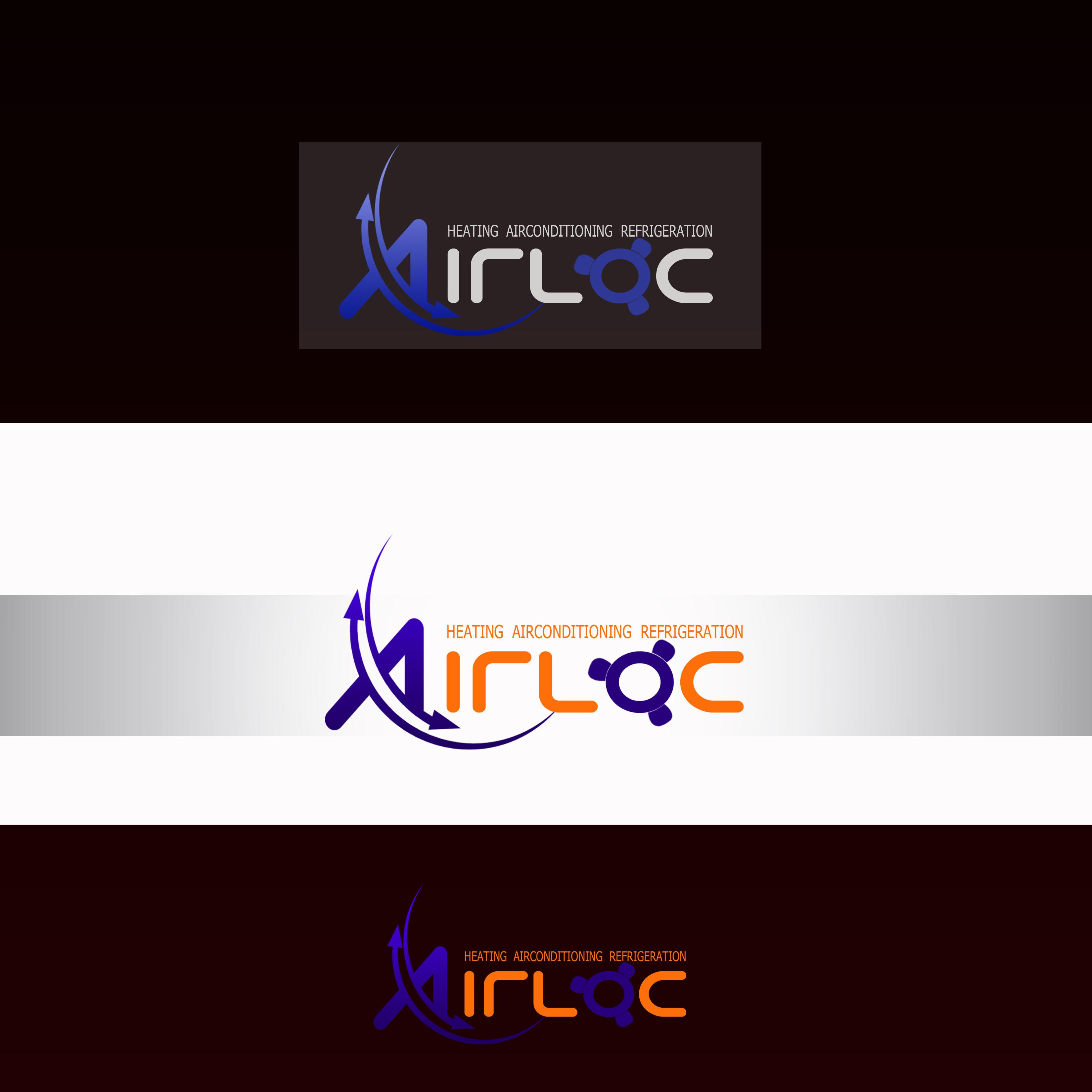 Logo Design by Allan Esclamado - Entry No. 8 in the Logo Design Contest Airloc Logo Design.