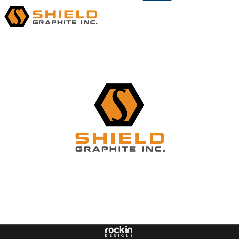 Logo Design by rockin - Entry No. 59 in the Logo Design Contest Imaginative Logo Design for Shield Graphite Inc..