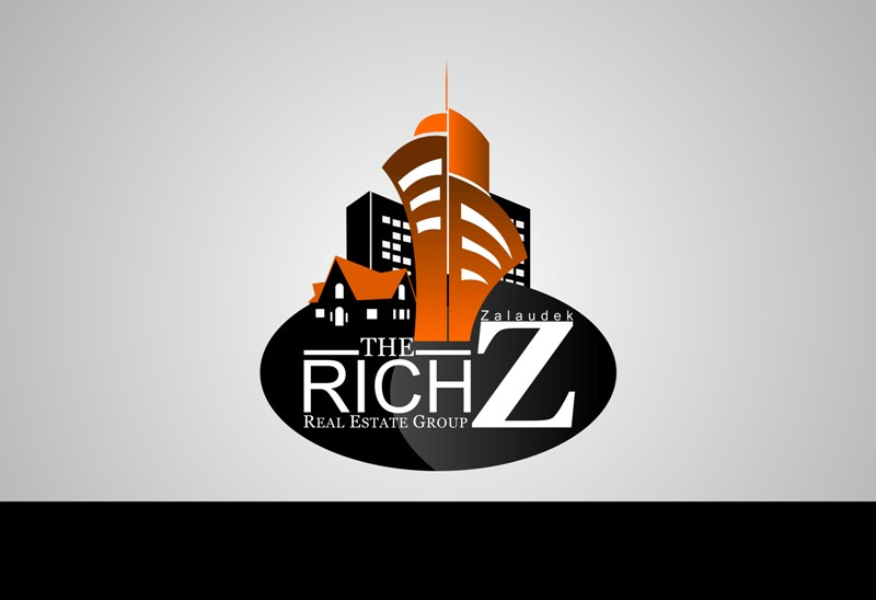 Logo Design by Crispin Jr Vasquez - Entry No. 60 in the Logo Design Contest The Rich Z. Real Estate Group Logo Design.