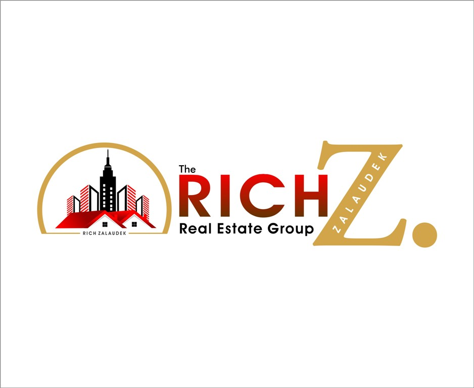 Logo Design by Mhon_Rose - Entry No. 61 in the Logo Design Contest The Rich Z. Real Estate Group Logo Design.