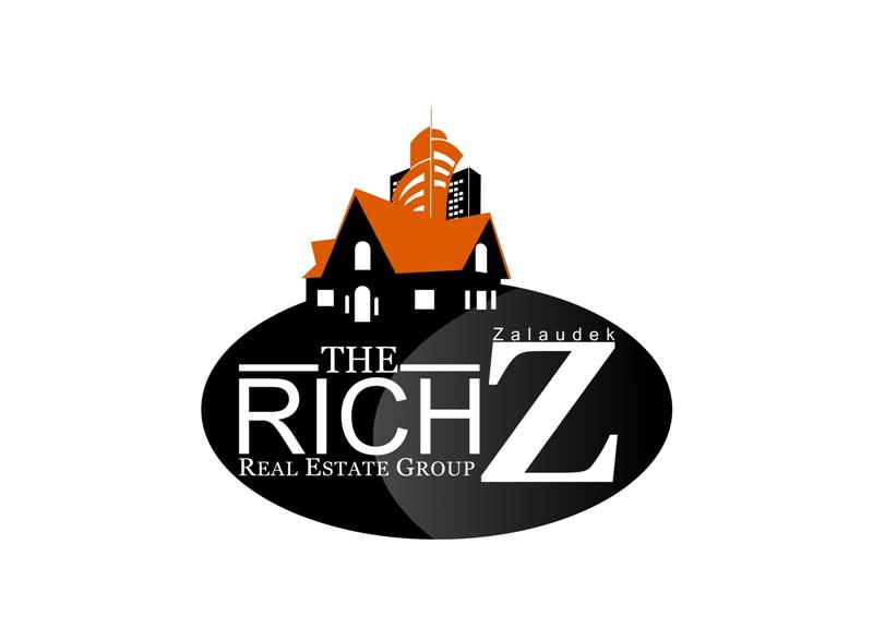 Logo Design by Crispin Jr Vasquez - Entry No. 63 in the Logo Design Contest The Rich Z. Real Estate Group Logo Design.