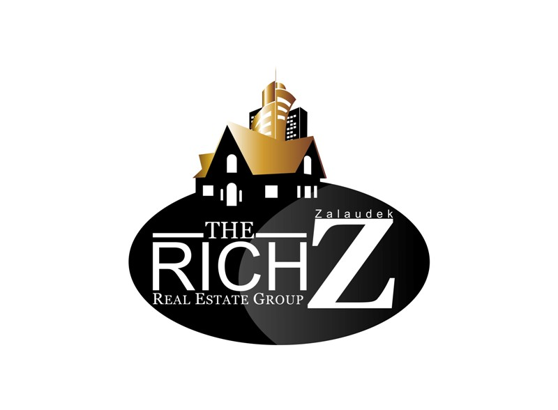 Logo Design by Crispin Jr Vasquez - Entry No. 64 in the Logo Design Contest The Rich Z. Real Estate Group Logo Design.