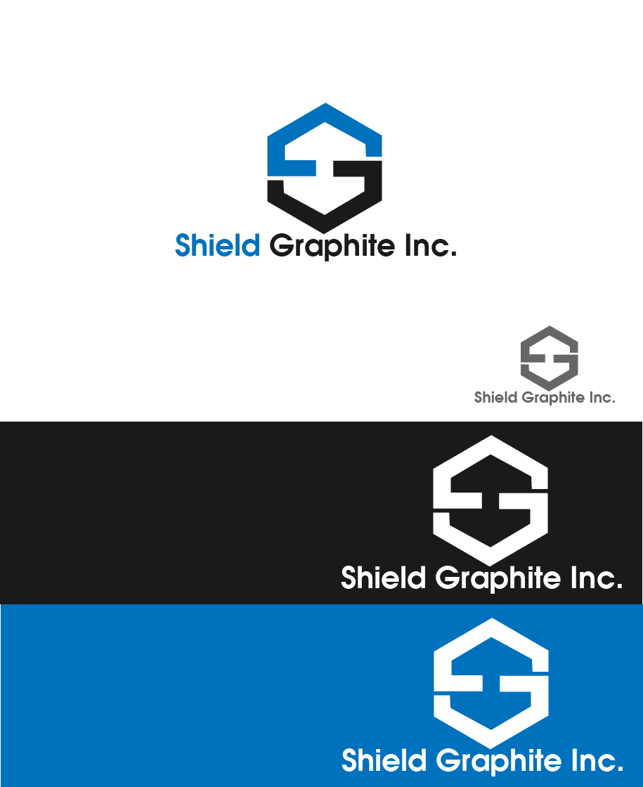 Logo Design by Private User - Entry No. 60 in the Logo Design Contest Imaginative Logo Design for Shield Graphite Inc..
