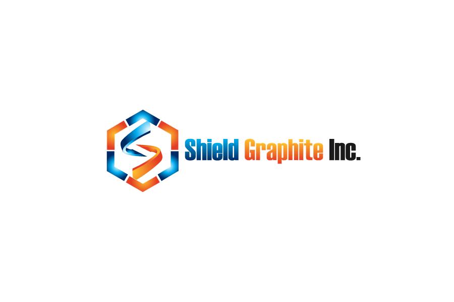 Logo Design by Private User - Entry No. 62 in the Logo Design Contest Imaginative Logo Design for Shield Graphite Inc..