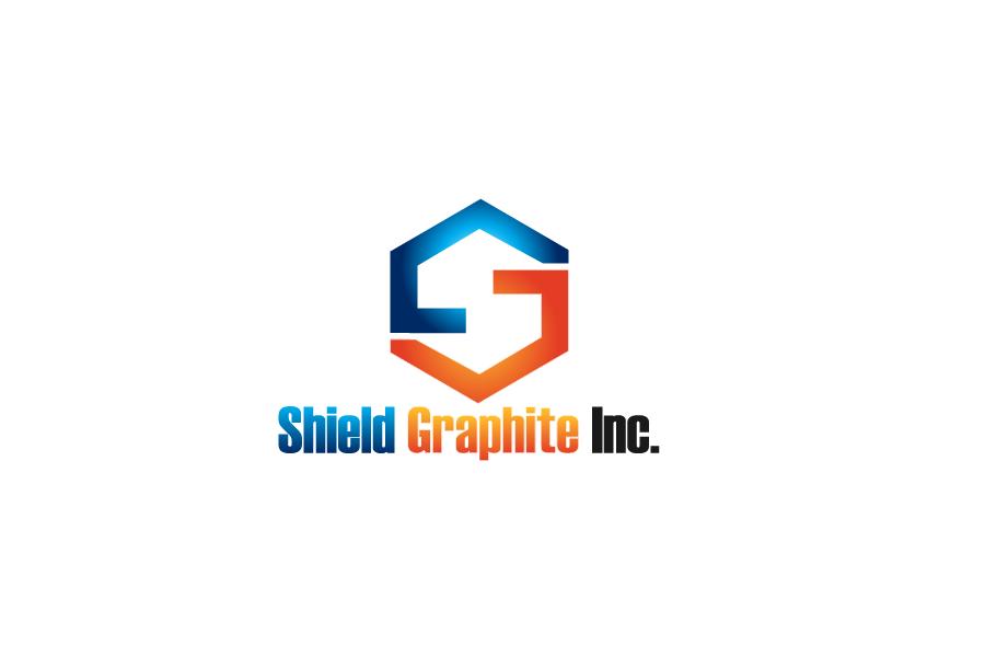 Logo Design by Private User - Entry No. 63 in the Logo Design Contest Imaginative Logo Design for Shield Graphite Inc..