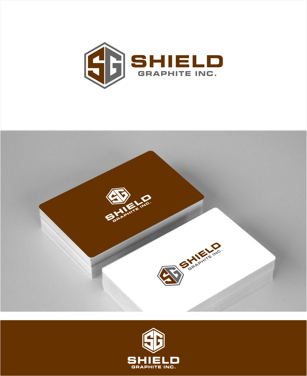 Logo Design by haidu - Entry No. 66 in the Logo Design Contest Imaginative Logo Design for Shield Graphite Inc..