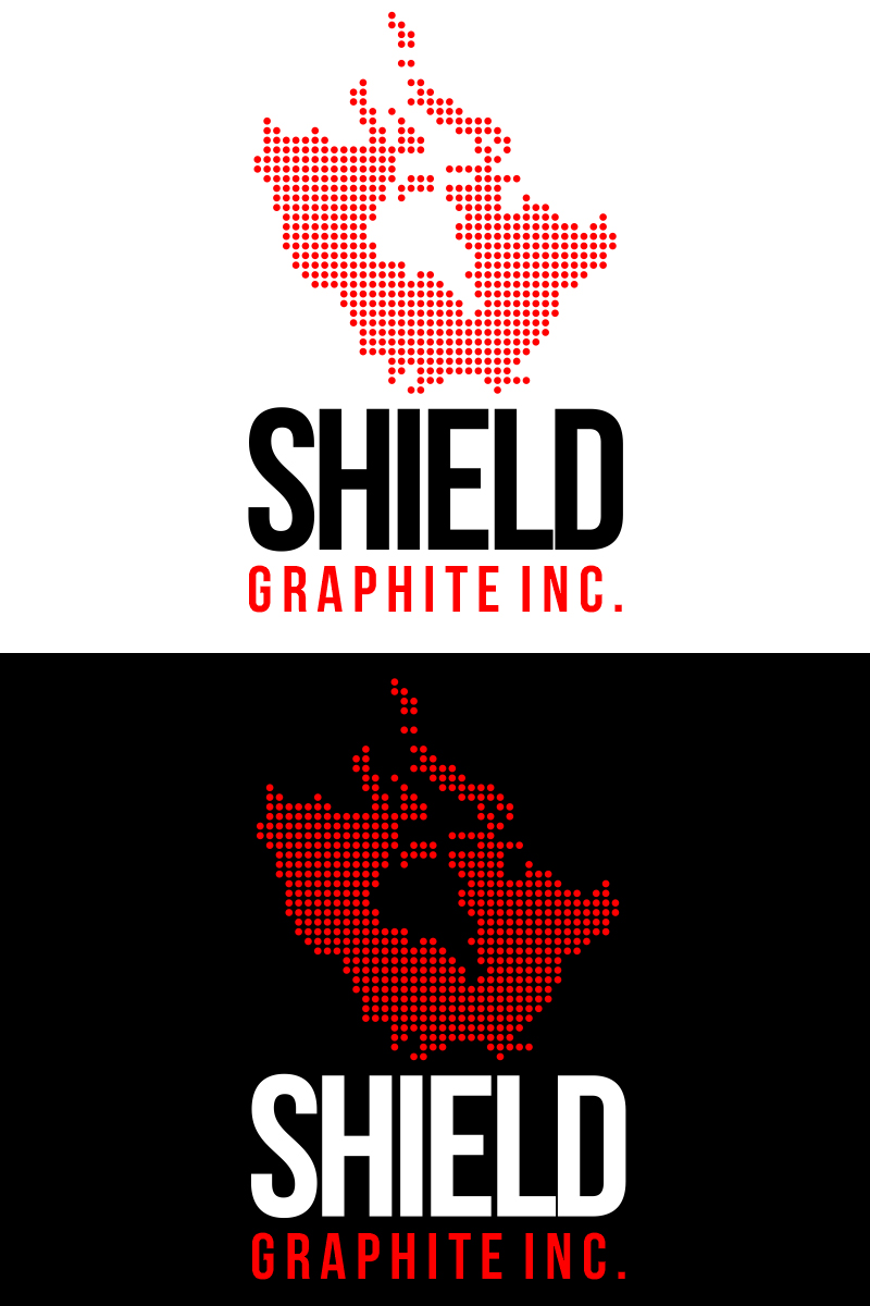 Logo Design by Indika Kiriella - Entry No. 67 in the Logo Design Contest Imaginative Logo Design for Shield Graphite Inc..