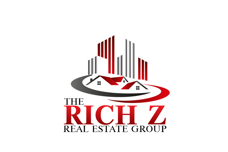Logo Design by Private User - Entry No. 72 in the Logo Design Contest The Rich Z. Real Estate Group Logo Design.