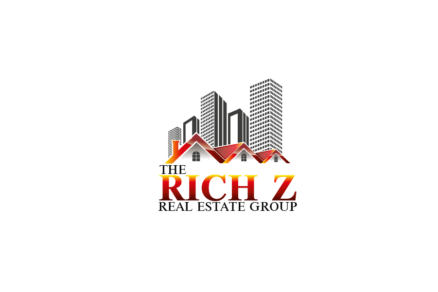 Logo Design by Private User - Entry No. 73 in the Logo Design Contest The Rich Z. Real Estate Group Logo Design.