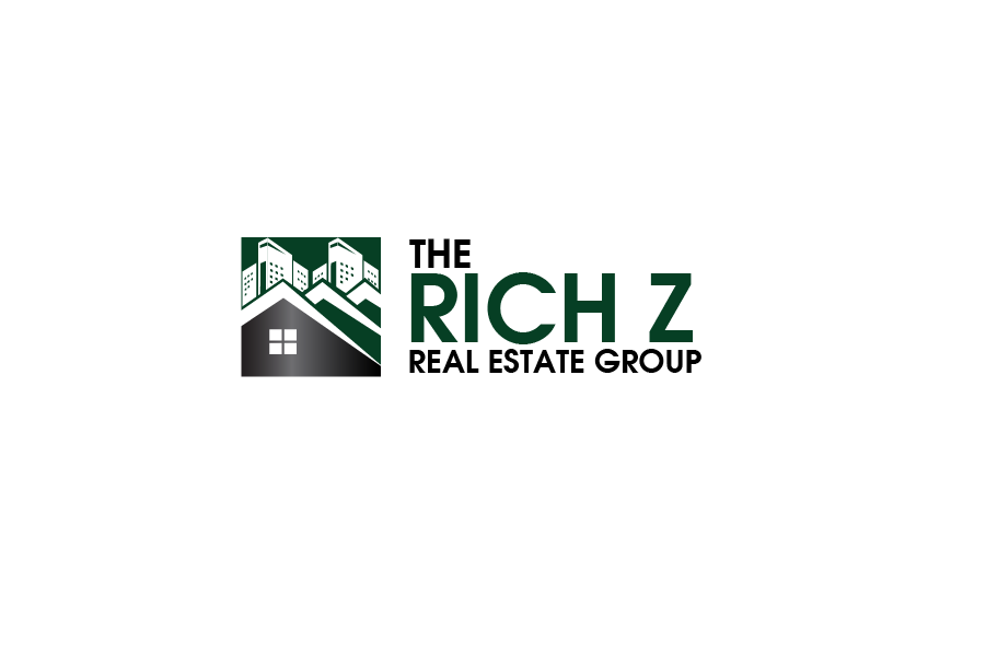 Logo Design by brands_in - Entry No. 74 in the Logo Design Contest The Rich Z. Real Estate Group Logo Design.