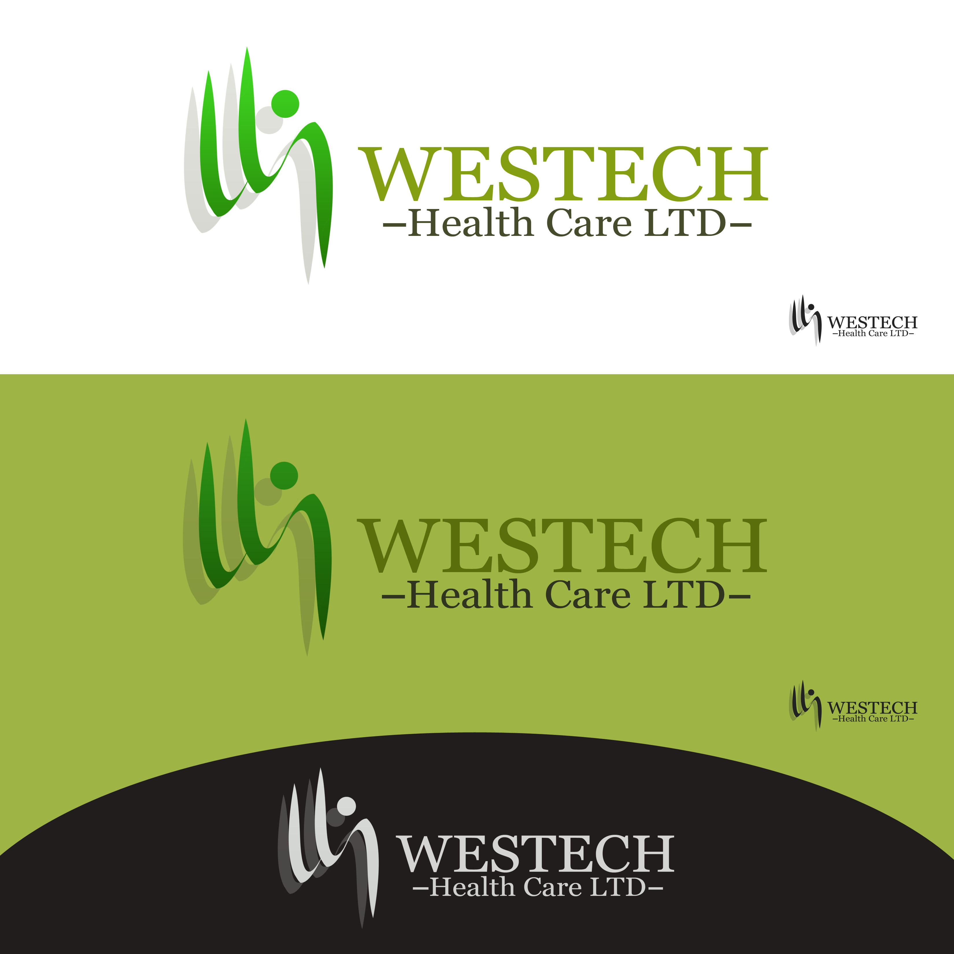 Logo Design by Allan Esclamado - Entry No. 4 in the Logo Design Contest Creative Logo Design for Westech Health Care Ltd..