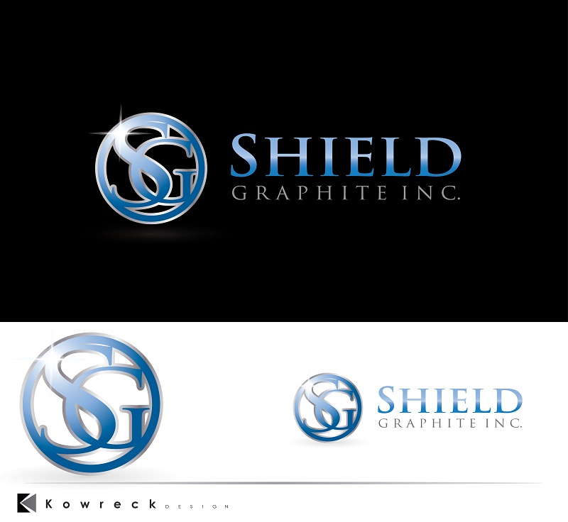 Logo Design by kowreck - Entry No. 72 in the Logo Design Contest Imaginative Logo Design for Shield Graphite Inc..