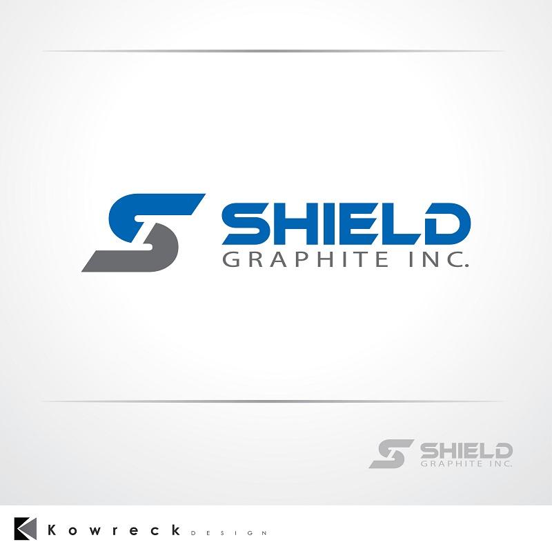 Logo Design by kowreck - Entry No. 73 in the Logo Design Contest Imaginative Logo Design for Shield Graphite Inc..