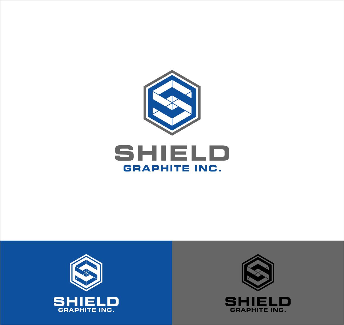 Logo Design by haidu - Entry No. 76 in the Logo Design Contest Imaginative Logo Design for Shield Graphite Inc..
