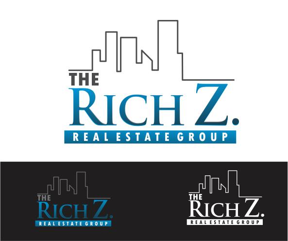 Logo Design by ronny - Entry No. 77 in the Logo Design Contest The Rich Z. Real Estate Group Logo Design.