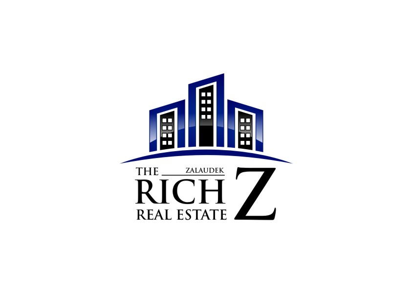 Logo Design by untung - Entry No. 78 in the Logo Design Contest The Rich Z. Real Estate Group Logo Design.