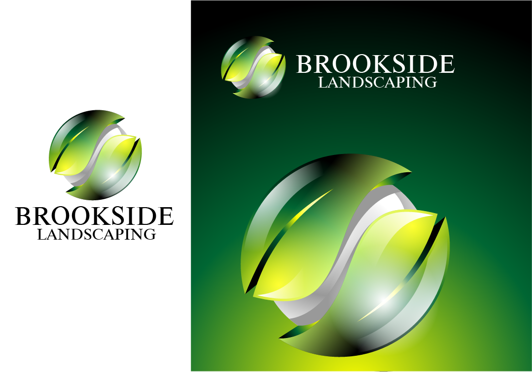 Logo Design by Private User - Entry No. 154 in the Logo Design Contest New Logo Design for Brookside Landscape Management.