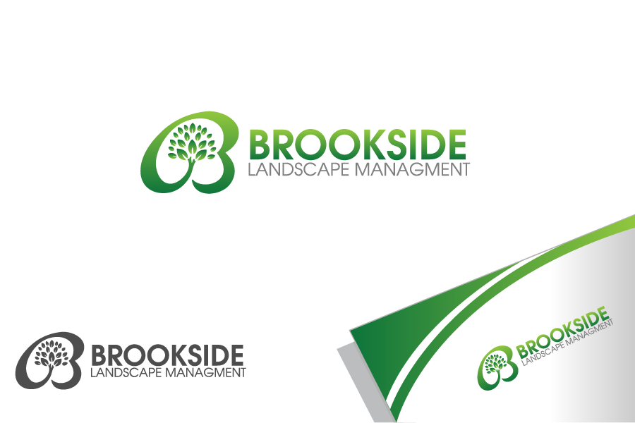 Logo Design by Private User - Entry No. 155 in the Logo Design Contest New Logo Design for Brookside Landscape Management.