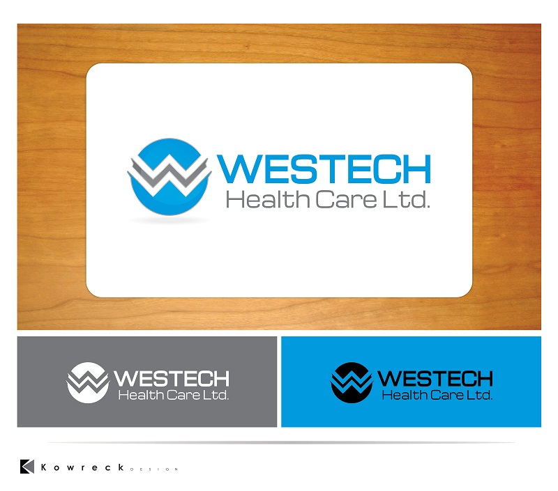 Logo Design by kowreck - Entry No. 12 in the Logo Design Contest Creative Logo Design for Westech Health Care Ltd..