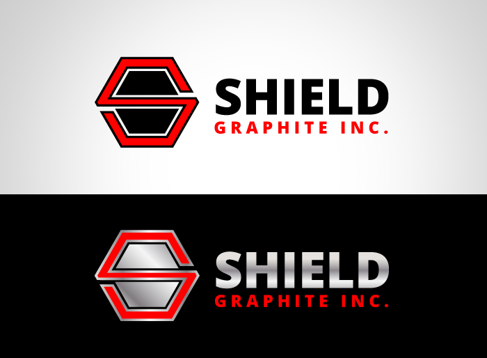 Logo Design by Jan Chua - Entry No. 82 in the Logo Design Contest Imaginative Logo Design for Shield Graphite Inc..