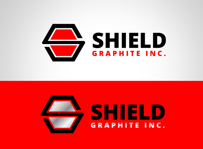 Logo Design by Jan Chua - Entry No. 83 in the Logo Design Contest Imaginative Logo Design for Shield Graphite Inc..