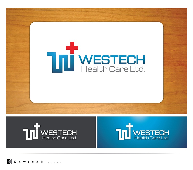 Logo Design by kowreck - Entry No. 13 in the Logo Design Contest Creative Logo Design for Westech Health Care Ltd..