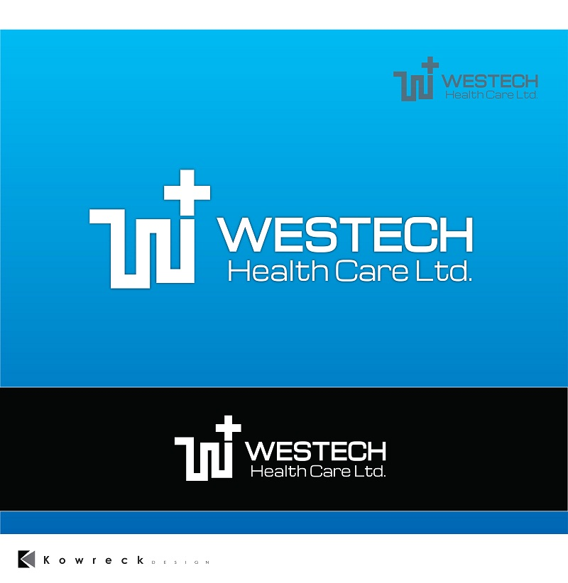 Logo Design by kowreck - Entry No. 14 in the Logo Design Contest Creative Logo Design for Westech Health Care Ltd..