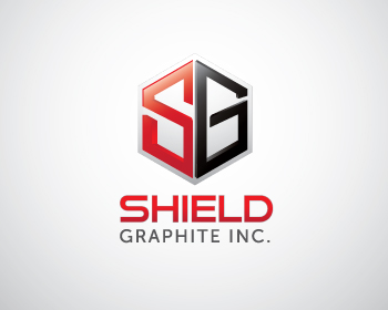 Logo Design by Private User - Entry No. 89 in the Logo Design Contest Imaginative Logo Design for Shield Graphite Inc..