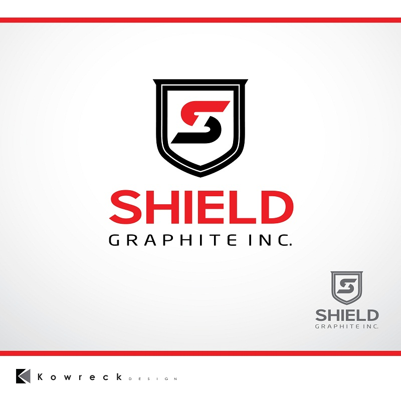 Logo Design by kowreck - Entry No. 90 in the Logo Design Contest Imaginative Logo Design for Shield Graphite Inc..