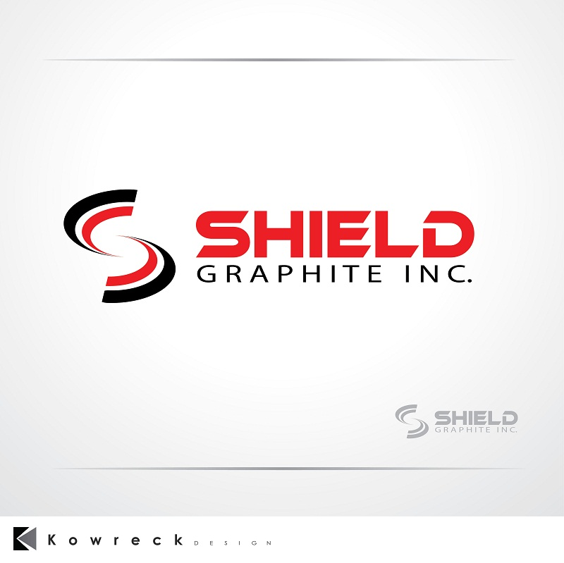 Logo Design by kowreck - Entry No. 91 in the Logo Design Contest Imaginative Logo Design for Shield Graphite Inc..
