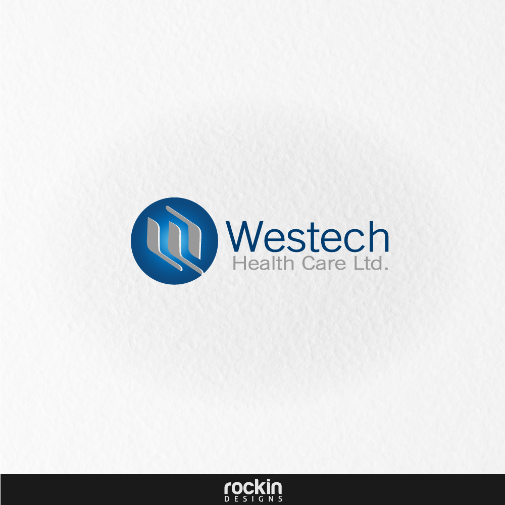 Logo Design by rockin - Entry No. 16 in the Logo Design Contest Creative Logo Design for Westech Health Care Ltd..