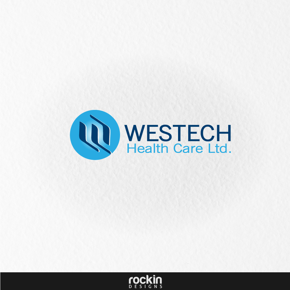 Logo Design by rockin - Entry No. 17 in the Logo Design Contest Creative Logo Design for Westech Health Care Ltd..