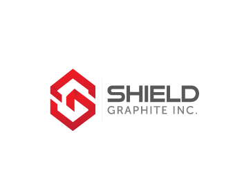 Logo Design by Private User - Entry No. 93 in the Logo Design Contest Imaginative Logo Design for Shield Graphite Inc..