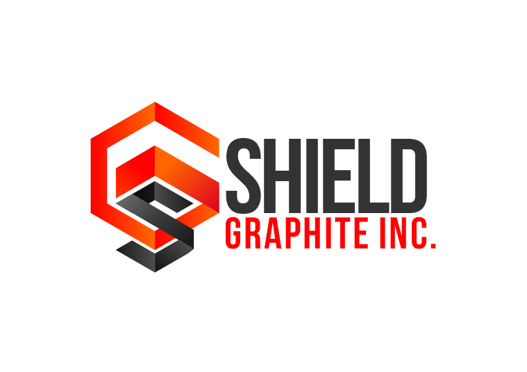 Logo Design by Indika Kiriella - Entry No. 94 in the Logo Design Contest Imaginative Logo Design for Shield Graphite Inc..