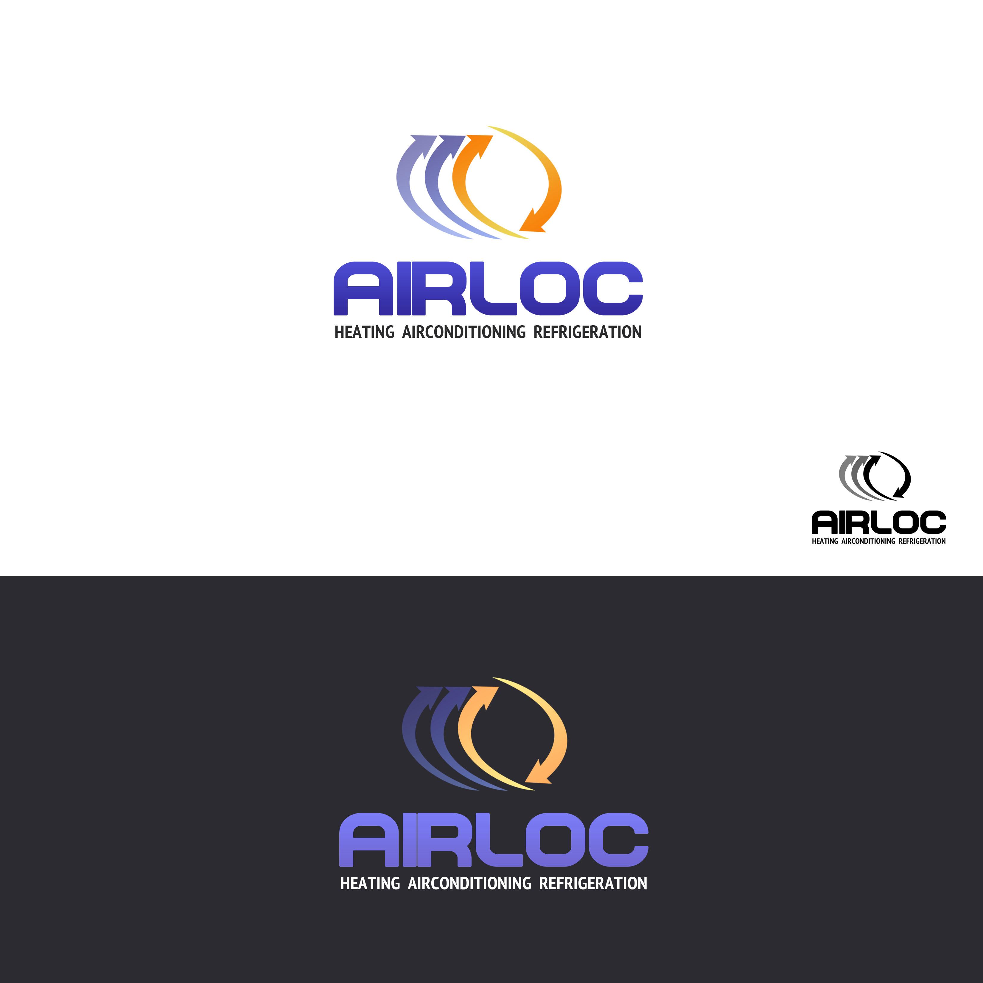 Logo Design by Allan Esclamado - Entry No. 18 in the Logo Design Contest Airloc Logo Design.