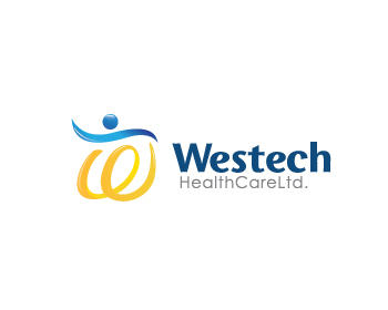 Logo Design by Private User - Entry No. 26 in the Logo Design Contest Creative Logo Design for Westech Health Care Ltd..