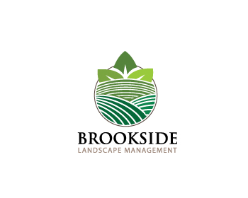 Logo Design by Private User - Entry No. 156 in the Logo Design Contest New Logo Design for Brookside Landscape Management.