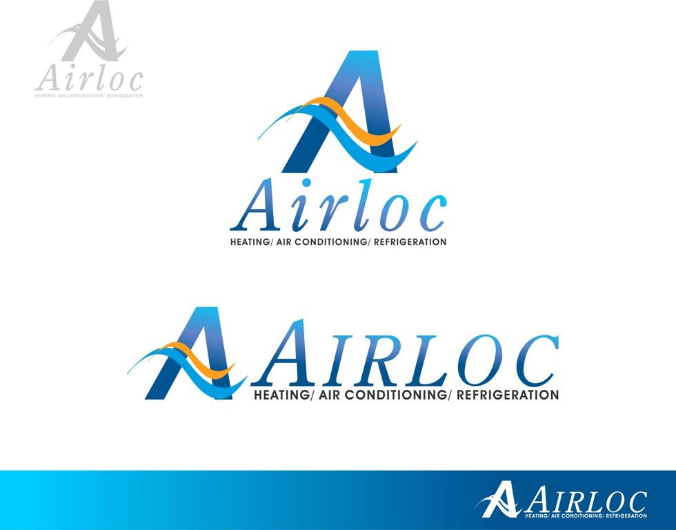 Logo Design by Mhon_Rose - Entry No. 24 in the Logo Design Contest Airloc Logo Design.