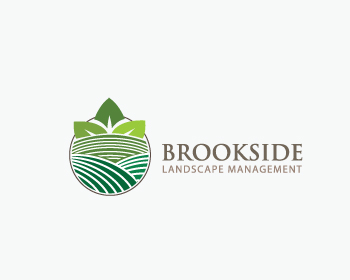 Logo Design by Private User - Entry No. 157 in the Logo Design Contest New Logo Design for Brookside Landscape Management.