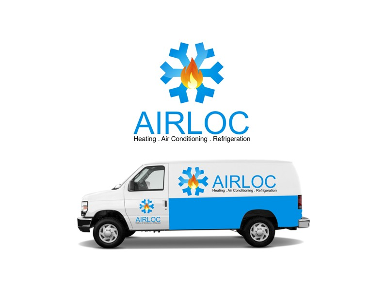 Logo Design by Crispin Jr Vasquez - Entry No. 27 in the Logo Design Contest Airloc Logo Design.