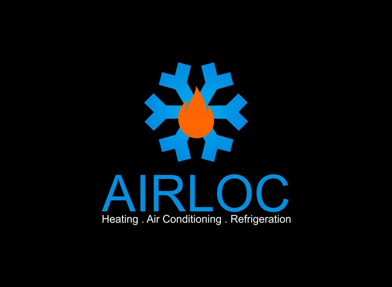 Logo Design by Crispin Jr Vasquez - Entry No. 28 in the Logo Design Contest Airloc Logo Design.