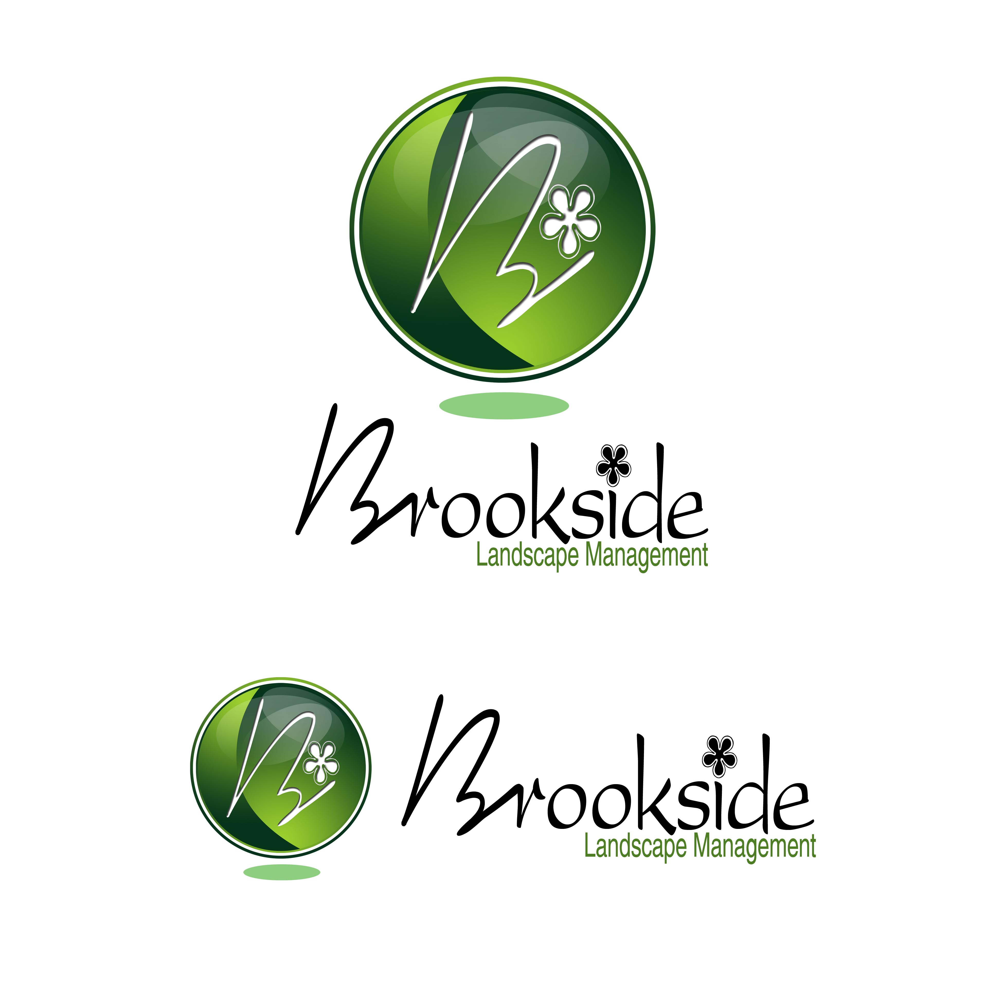 Logo Design by Cesar III Sotto - Entry No. 158 in the Logo Design Contest New Logo Design for Brookside Landscape Management.