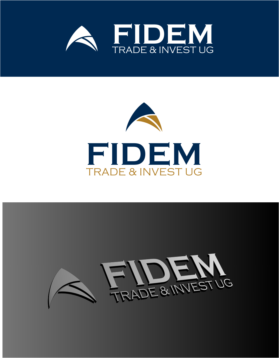 Logo Design by Agus Martoyo - Entry No. 629 in the Logo Design Contest Professional Logo Design for FIDEM Trade & Invest UG.