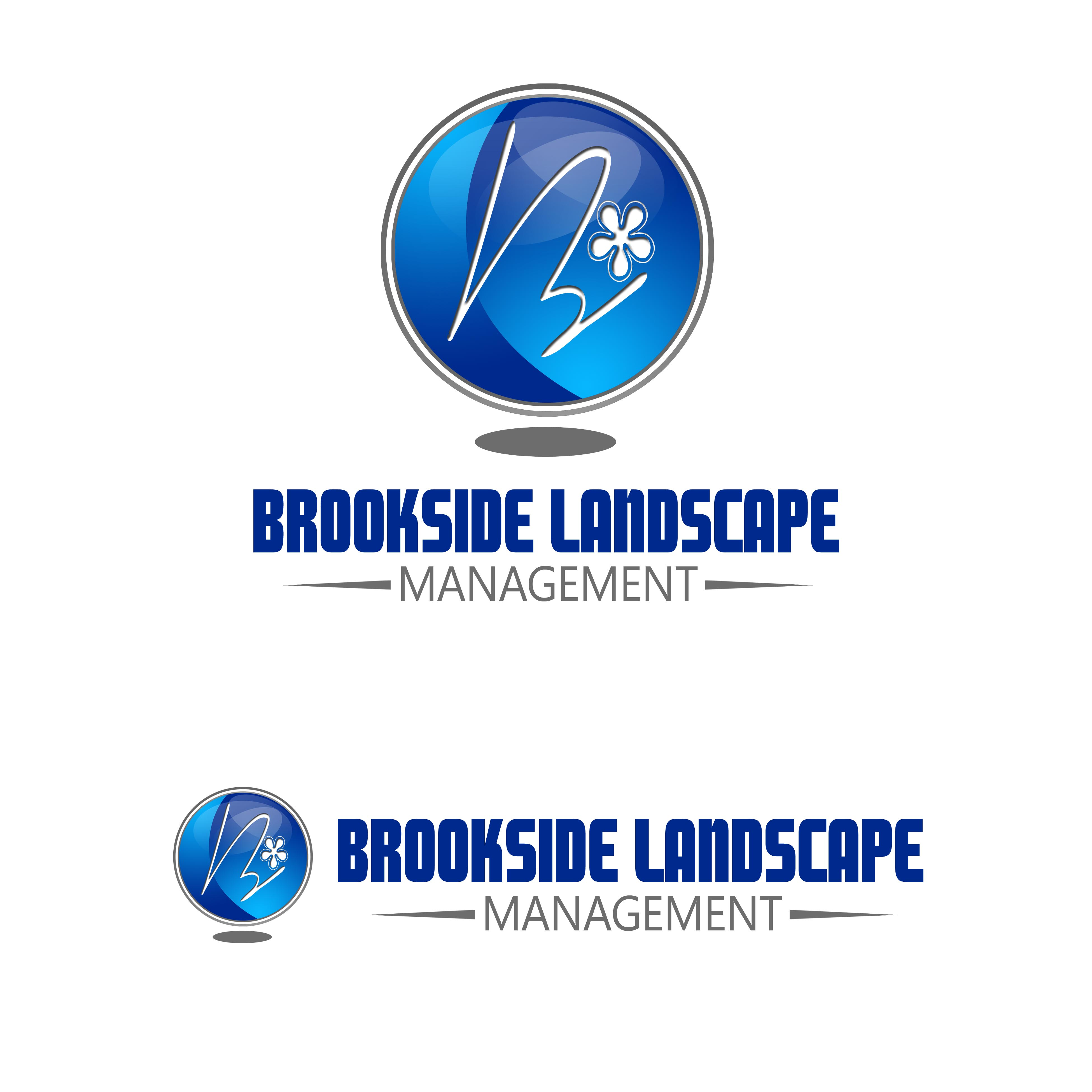 Logo Design by Cesar III Sotto - Entry No. 159 in the Logo Design Contest New Logo Design for Brookside Landscape Management.