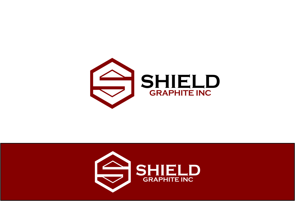 Logo Design by Agus Martoyo - Entry No. 103 in the Logo Design Contest Imaginative Logo Design for Shield Graphite Inc..