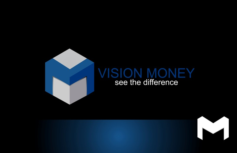 Logo Design by Crispin Jr Vasquez - Entry No. 8 in the Logo Design Contest Captivating Logo Design for VISION MONEY.